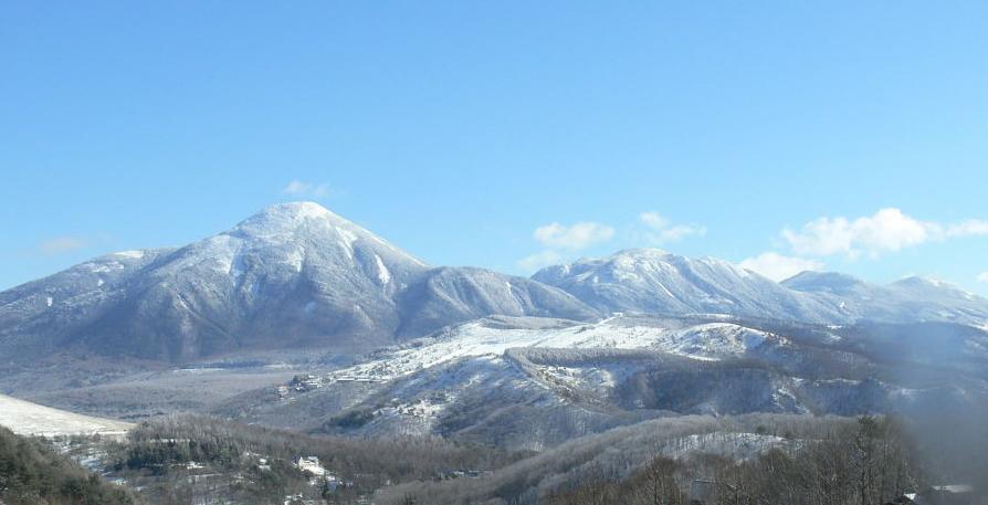 車山高原ペンション村上部から蓼科山・北横岳・北八ヶ岳