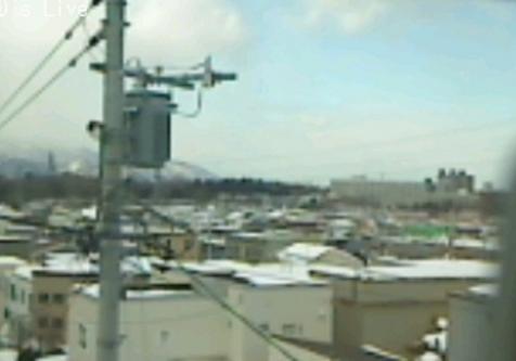 札幌市豊平区上空