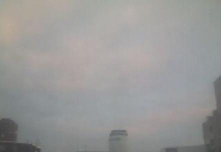MCS本社から札幌市上空