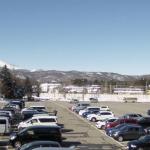 軽井沢プリンスホテルスキー場スキーセンター駐車場浅間山側ライブカメラ(長野県軽井沢町軽井沢)