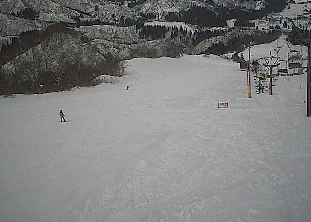 石打丸山スキー場北丸山ゲレンデ