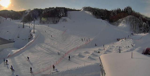 ガーラ湯沢スキー場中央エリアジジコース