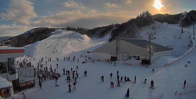 ガーラ湯沢スキー場中央エリアメロディコース