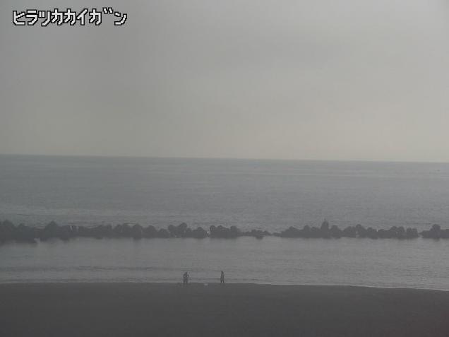 平塚海岸から湘南ひらつかビーチパーク