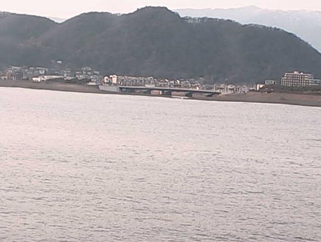 平塚沖総合実験タワー(平塚海洋観測タワー)から相模湾