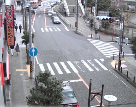 橋本駅南口周辺から橋本駅方向