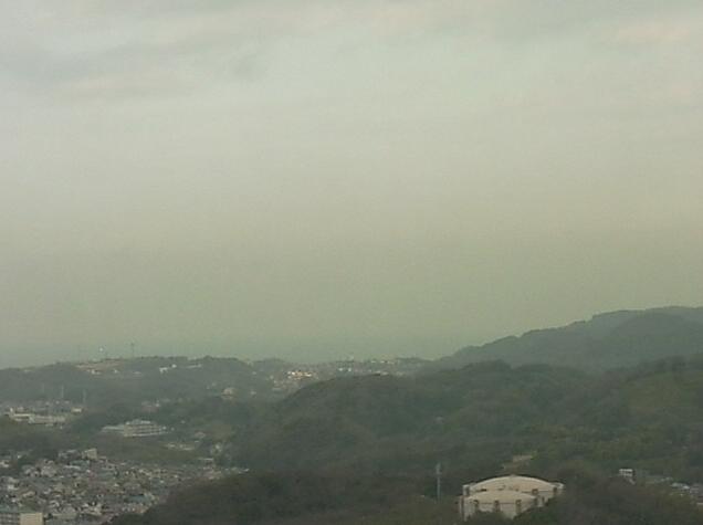 NTT横須賀研究開発センタから富士山