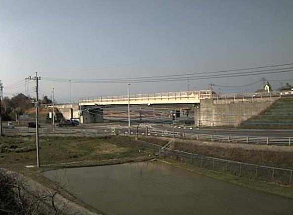有明町側出入口から松島有明道路(国道324号)