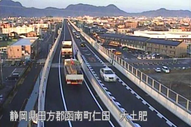 国道1号伊豆縦貫自動車道大土肥