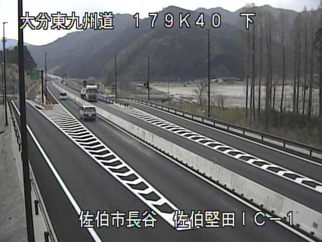 東九州自動車道佐伯堅田インターチェンジ