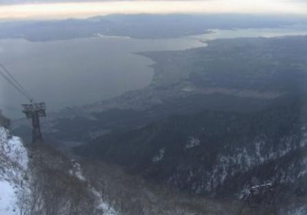 びわ湖バレイから琵琶湖