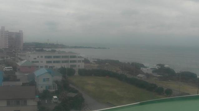 白浜フローラルホールから千葉県最南端・太平洋・野島埼灯台