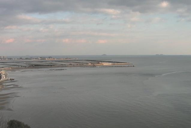 新舞子浜から御津海岸