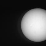 西はりま天文台太陽全面白色像ライブカメラ(兵庫県佐用町西河内)
