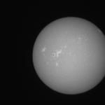 西はりま天文台太陽全面カルシウムK線像ライブカメラ(兵庫県佐用町西河内)