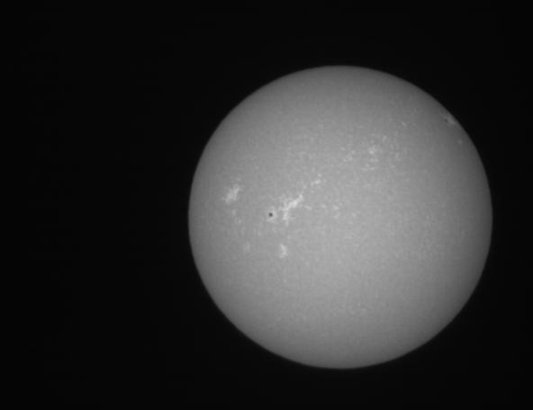 西はりま天文台太陽全面カルシウムK線像