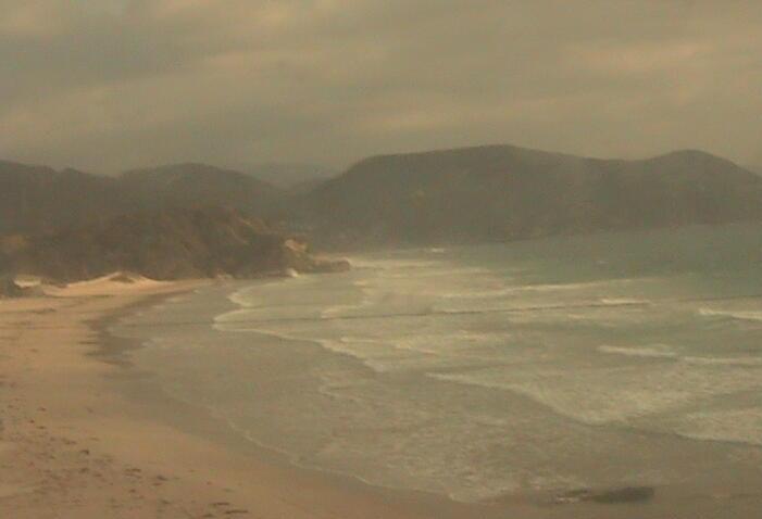 白浜マリーナから白浜海岸中央