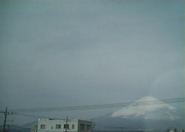 勝又新聞店から富士山