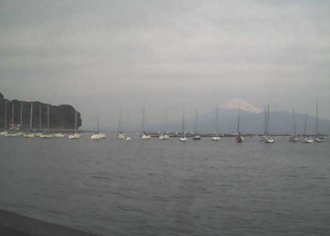古宇シーサイドセンターから富士山