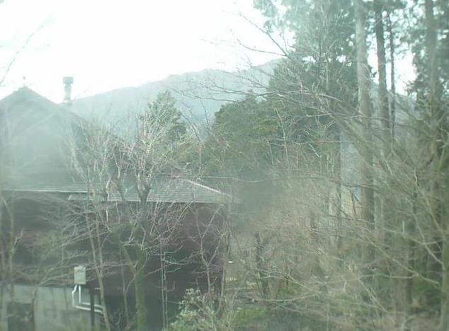十里木高原セカンドハウスから愛鷹山系越前岳
