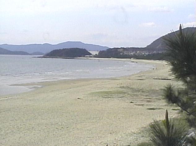 虹ケ浜海岸から虹ケ浜海水浴場