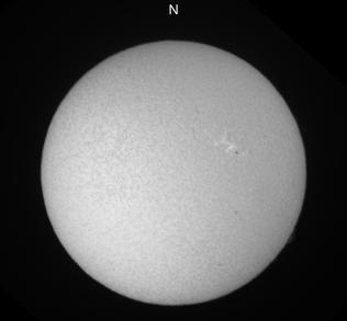 名古屋市科学館太陽Hα像