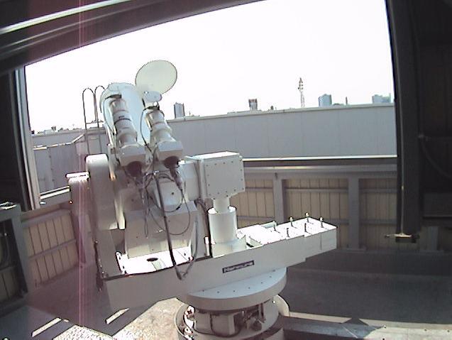 名古屋市科学館太陽望遠鏡本体