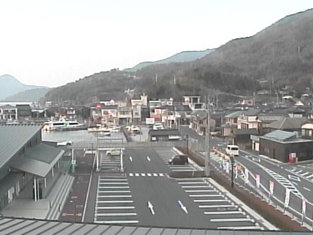 上関町役場中央公民館から周防灘・長島・上盛山