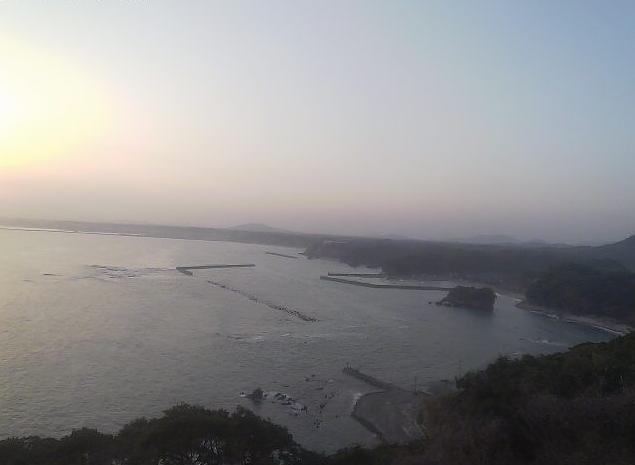 ダグリ岬から志布志湾