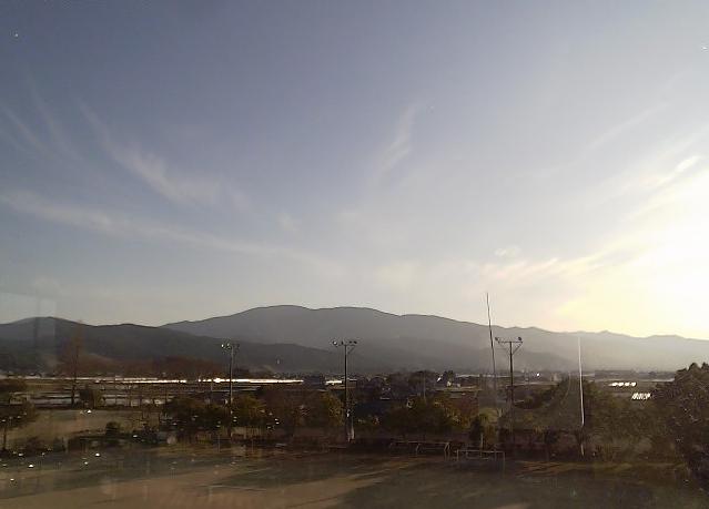 あさぎり町立岡原小学校から白髪岳