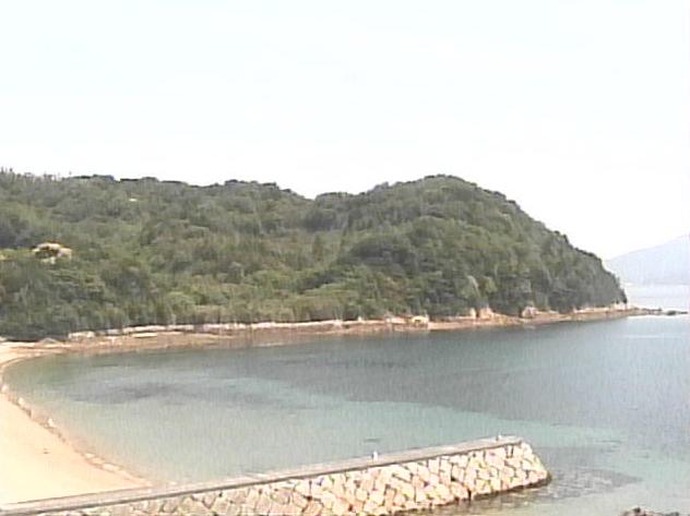 中の浦観光施設から中の浦海水浴場・皇座山・周防灘