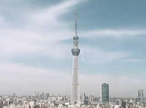 東武ホテルレバント東京から東京スカイツリー