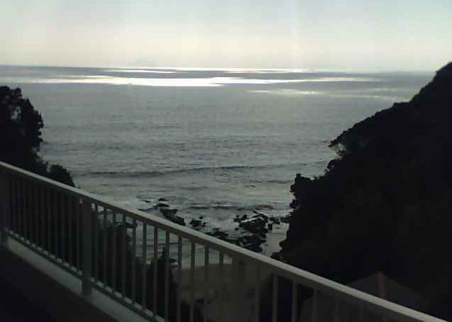 ビーチサイドハウスWAVEから相模湾