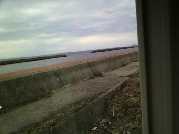 ジェットファクトリーから青森湾