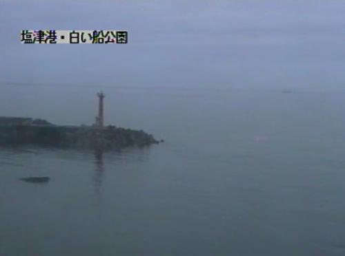 塩津港・白い船公園・日本海