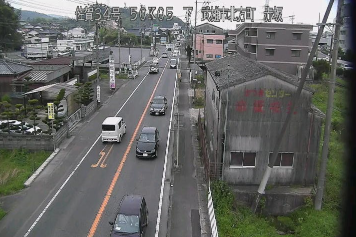 国道34号赤坂