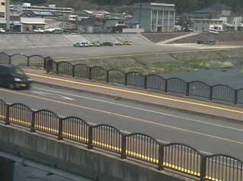 協心橋から玖珠川・大分県道43号玖珠山国線