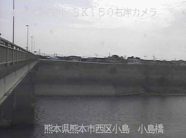 小島橋から白川