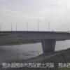 白川熊本西大橋ライブカメラ(熊本県熊本市西区)
