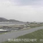 白川中島ライブカメラ(熊本県熊本市西区)