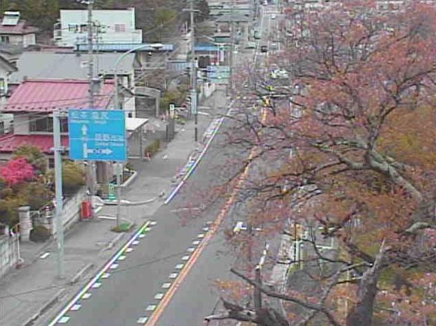 辰野公園から国道153号(三州街道)