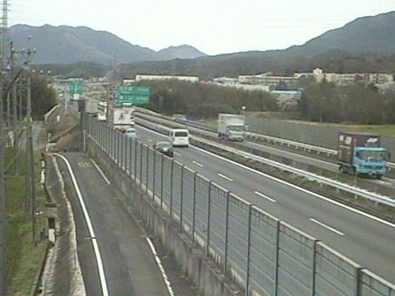 名阪国道御代インターチェンジ付近