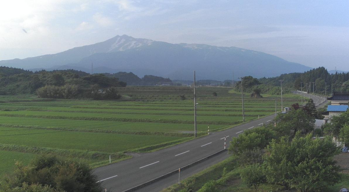 象潟町鳥海山ライブカメラ(秋田県にかほ市象潟町)