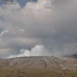 火山研究センター本堂観測所ライブカメラ(熊本県阿蘇市黒川)