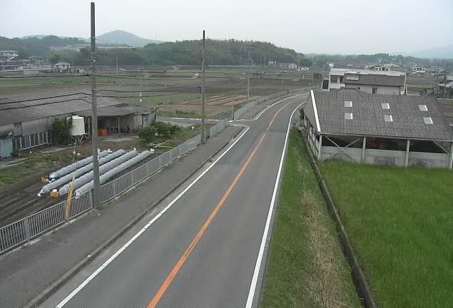 倭文流から兵庫県道66号大谷鮎原神代線が見えるライブカメラ。