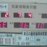男鹿マリーナ気象情報表示盤ライブカメラ(秋田県男鹿市船川港)