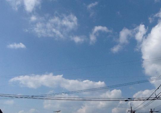 ITサービスセンタ都城から北側上空
