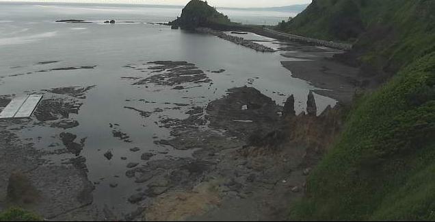 沢崎から神子岩が見えるライブカメラ。