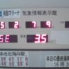 秋田マリーナ気象情報表示盤ライブカメラ(秋田県秋田市飯島)