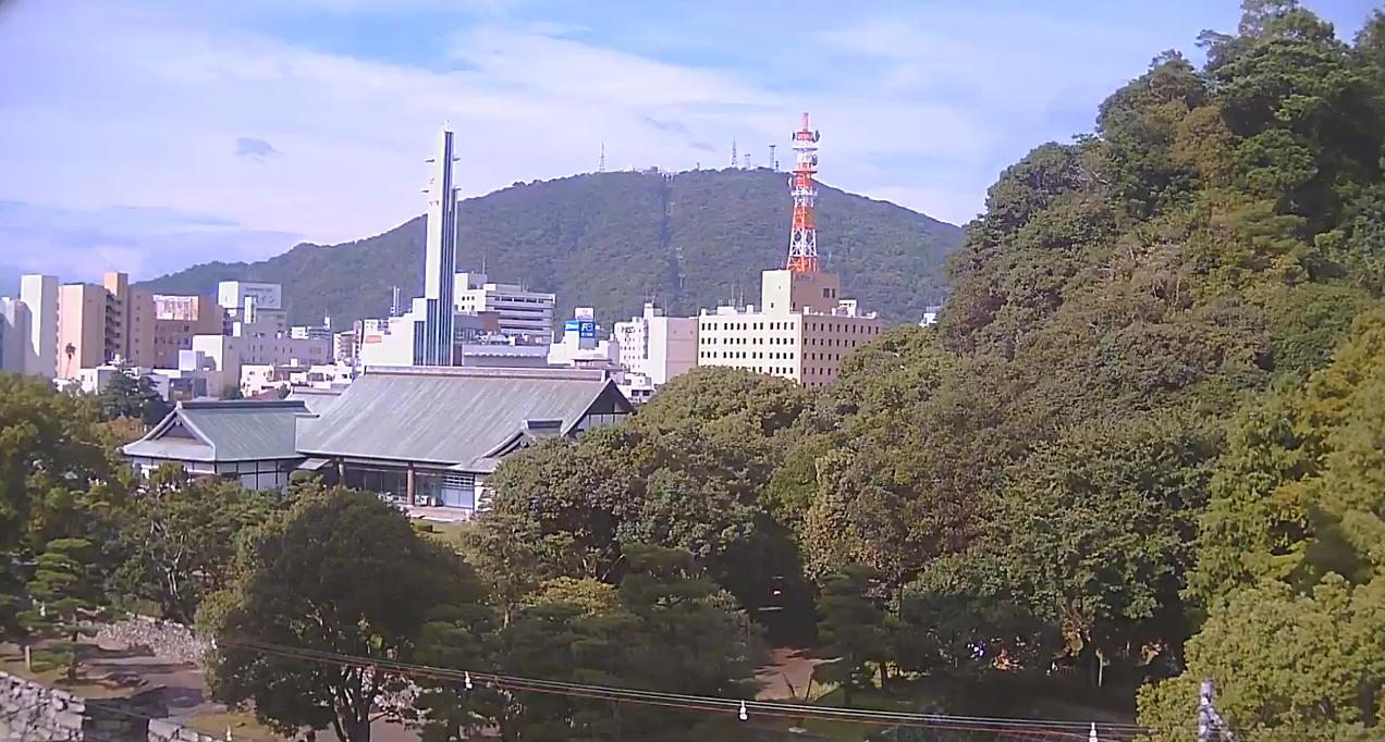 眉山ライブカメラは、徳島県徳島市徳島町の阿部珈琲館に設置された眉山が見えるライブカメラです。